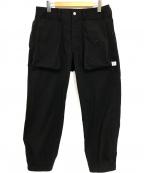 SASSAFRAS(ササフラス)の古着「ディグスクルーパンツ」 ブラック