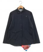MILLET(ミレー)の古着「ティフォン50000ストレッチシャツ」 ネイビー