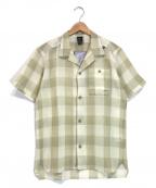 MILLET(ミレー)の古着「ワシ+ショートスリーブシャツ」 ベージュ
