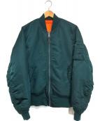 ()の古着「MA-1ジャケット」 グリーン