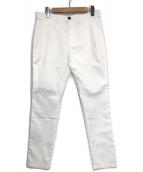 ()の古着「COOL MAX スキニーテーパード ストレッチチノ」 ホワイト