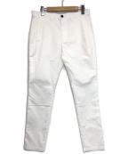 LANVIN en Bleu(ランバンオンブルー)の古着「COOL MAX スキニーテーパード ストレッチチノ」 ホワイト
