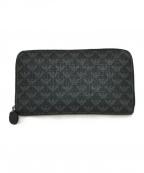 EMPORIO ARMANI(エンポリオアルマーニ)の古着「長財布」|ブラック