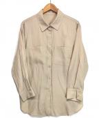 Rirandture()の古着「ナチュラルシャツジャケット」 ベージュ