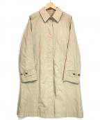 MARGARET HOWELL(マーガレットハウエル)の古着「ライナー付ステンカラーコート」 ベージュ