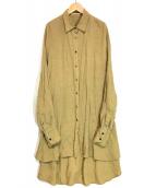 ()の古着「カレンソロジーシャツ」|ブラウン
