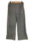 SUNSEA(サンシー)の古着「N.M Brushed Straight Pants」 グレー