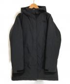 THE NORTH FACE(ザ ノース フェイス)の古着「マカルダウンコート」|ブラック