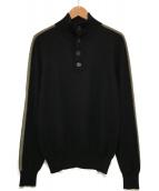 ()の古着「ハイネックニット」|ブラック