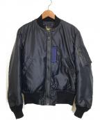 THE REAL McCOY'S(ザリアルマッコイズ)の古着「フライトジャケット」 ネイビー