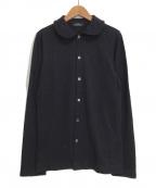 tricot COMME des GARCONS(トリココムデギャルソン)の古着「シャツ」 ネイビー