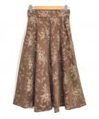 JILL STUART(ジルスチュアート)の古着「ミシェル刺繍ロングスカート」
