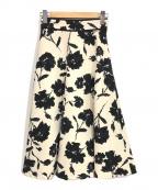 STRAWBERRY FIELDS(ストロベリーフィールズ)の古着「ノワールブルーム スカート」|ベージュ