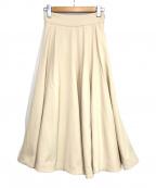 Snidel(スナイデル)の古着「スカート」|ベージュ