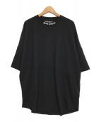 ()の古着「logo print T-shirt/ロゴオーバーTシャツ」 ブラック