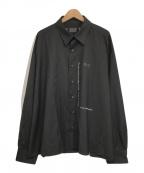 DANKE SCHON(ダンケ シェーン)の古着「RIFRECT CHAIN SHIRT/リフレクターチェーン」|ブラック