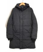 ()の古着「中綿コート」|ネイビー