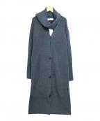 LE CIEL BLEU(ルシェルブルー)の古着「Stole Knit Cardigan」 ブルー