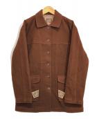 ()の古着「リボンデザインジャケット」|ブラウン