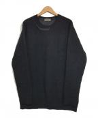 YohjiYamamoto pour homme(ヨウジヤマモトプールオム)の古着「ニット」|ブラック