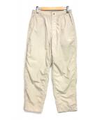 ()の古着「Shirred Waist Pants」|アイボリー