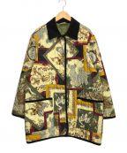 Salvatore Ferragamo()の古着「ヴィンテージ総柄キルティングジャケット」|マルチカラー