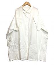 Y's (ワイズ) オーバーサイズシャツ ホワイト サイズ:2