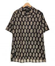 s'yte (サイト) オープンカラーシャツ ブラウン サイズ:3