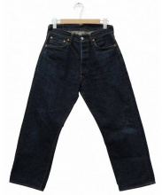 EVISU(エビス)の古着「水引刺繍セルビッチデニムパンツ」 インディゴ