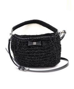 ANTEPRIMA(アンテプリマ)の古着「2WAYワイヤーバッグ」|ブラック