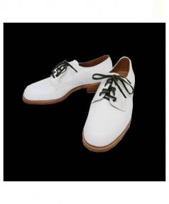 SANDERS(サンダース)の古着「Female Plain Toe Shoe」|ホワイト