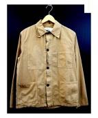 AUTREFOIS(オートレフォア)の古着「コットンジャケット」|ベージュ