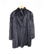 SAGA MINK(サガミンク)の古着「ミンクコート」 ブラック
