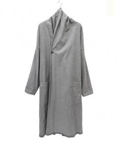 SISII(シシ)の古着「ガウンコート」 グレー