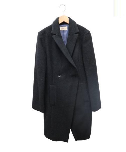 sabena sabena (サベナ) ウールモッサ2Bダブルコート ブラック サイズ:表記無し 定価¥42,000+税 BEAMS取扱