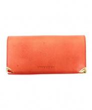 GIVENCHY(ジバンシィ)の古着「長財布」|レッド