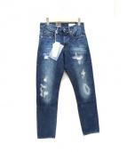 G-STAR RAW(ジースターロゥ)の古着「リペア加工テーパードデニムパンツ」|インディゴ