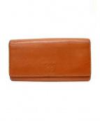 LOEWE(ロエベ)の古着「長財布」|ブラウン