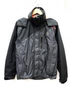 AIGLE(エーグル)の古着「GORE-TEXマウンテンパーカー」|ブラック