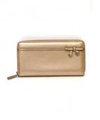 GUCCI(グッチ)の古着「長財布」|ピンクゴールド