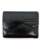 Vivienne Westwood(ヴィヴィアン・ウエストウッド)の古着「3つ折り財布」|ブラック