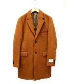 JOURNAL STANDARD(ジャーナルスタンダード)の古着「ビーバーチェスターコート」 キャメル