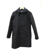 LAVENHAM(ラベンハム)の古着「2WAYキルティングコート」 ブラック
