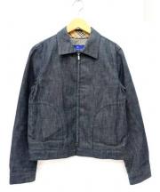 Burberrys BLUE LABEL(バーバリーブルーレーベル)の古着「デニムジャケット」 インディゴ