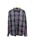 BRU NA BOINNE(ブルーナボイン)の古着「リネンシャツ」 パープル