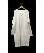 KAPITAL(キャピタル)の古着「ナバホタックワンピース」|ホワイト