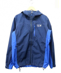 MOUNTAIN HARD WEAR(マウンテンハードウェア)の古着「マウンテンパーカー」|ブルー