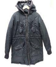 DIESEL(ディーゼル)の古着「ダウンコート」|ブラック
