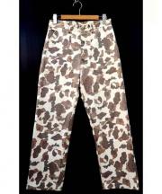 SASSAFRAS(ササフラス)の古着「カモフラパンツ」|ベージュ×ブラウン