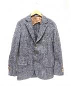 BRUNELLO CUCINELLI(ブルネロ クチネリ)の古着「アルパカウール3Bジャケット」 グレー